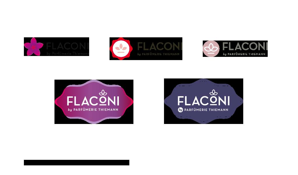 Flaconi – Logoentwürfe für Silberpuls / Berlin