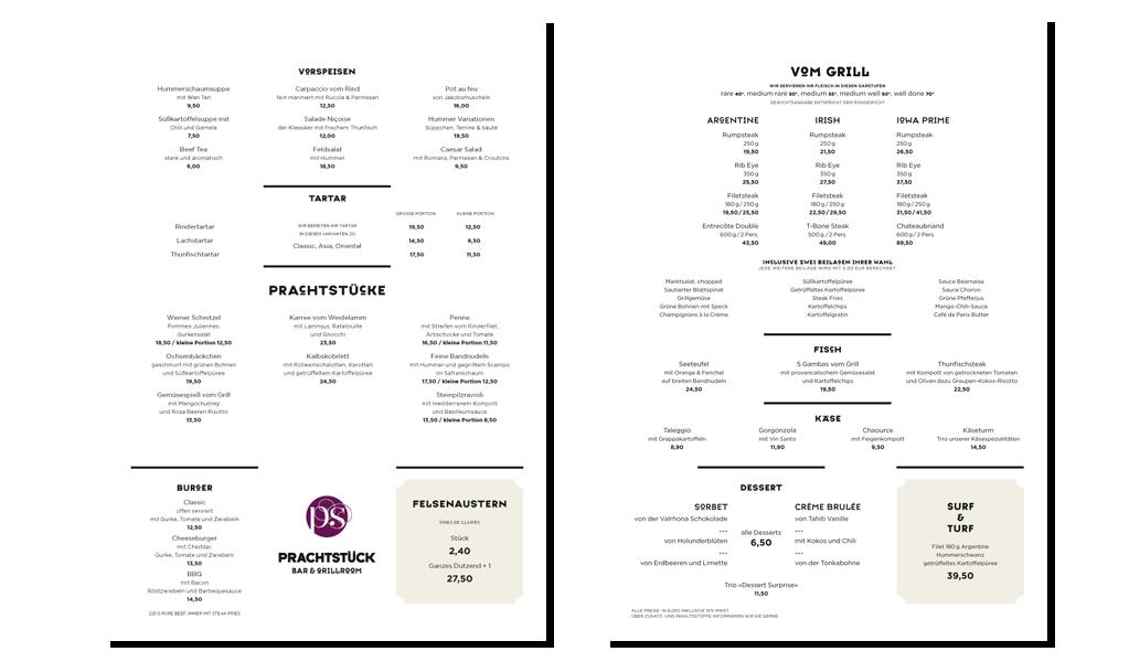 Prachtstück –Bar & Grillroom